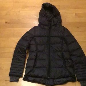 Ivivva by Lululemon black puffer jacket